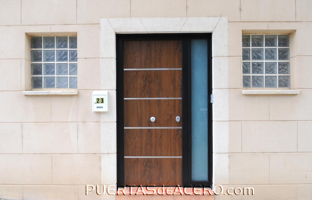 Fotos de puertas acorazadas blindadas - Puertas de exterior de pvc ...