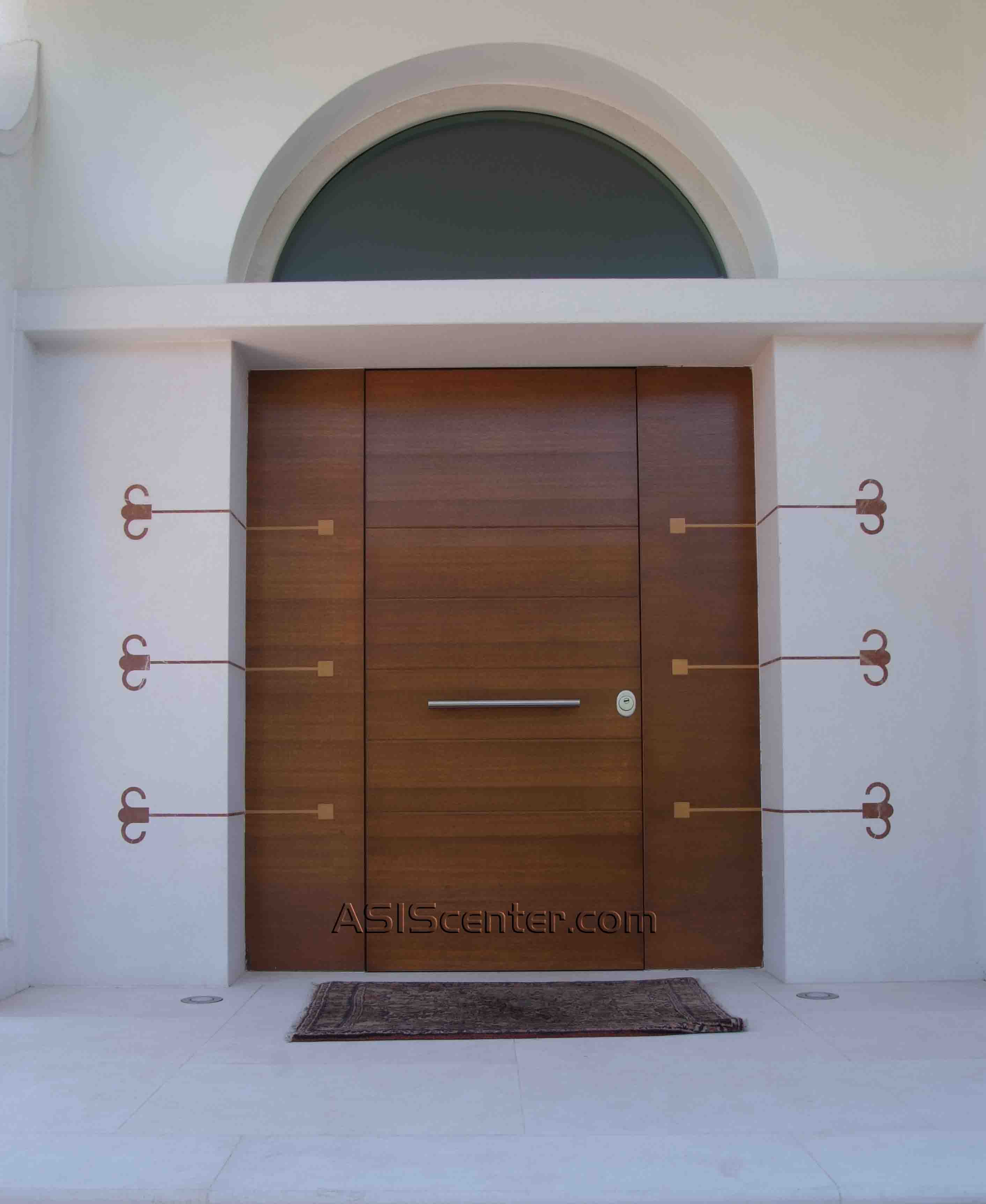 Puertas blindadas malaga metlica fresada blanca with - Puertas exterior malaga ...