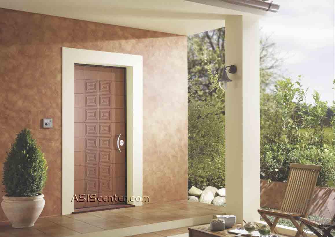 Fotos de puertas acorazadas blindadas for Disenos de puertas de madera para exterior