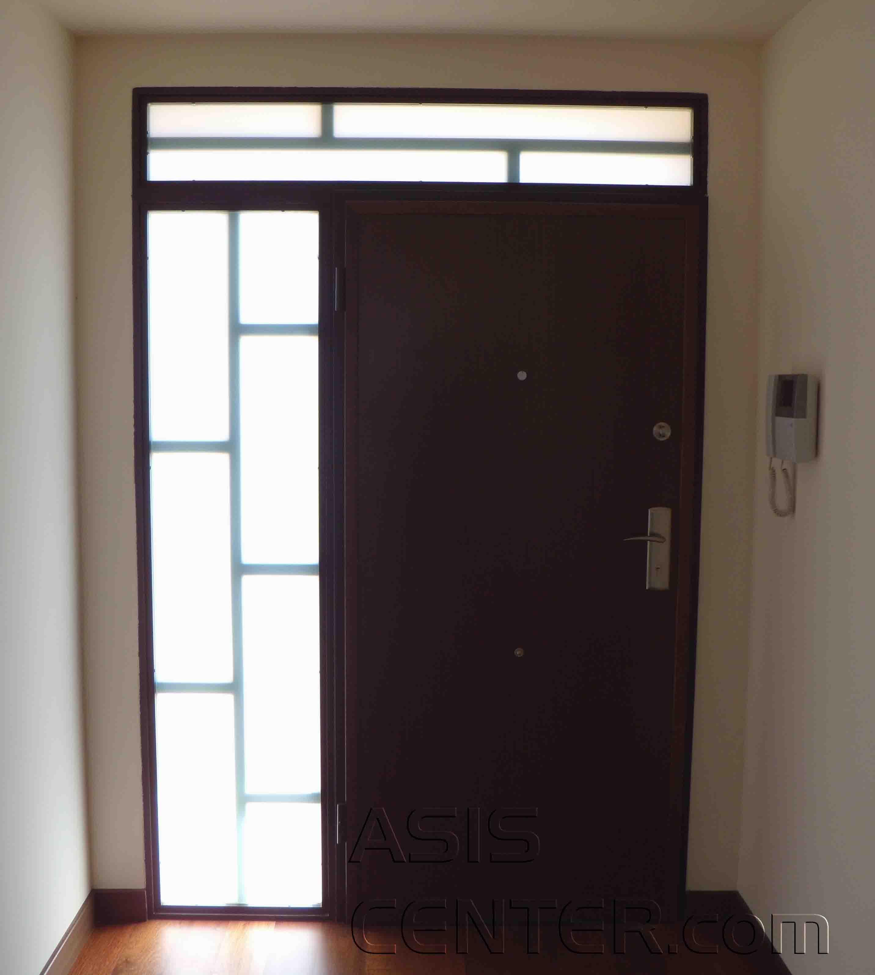 Fijos acorazados para puertas acorazadas blindadas - Cristal blindado precio ...